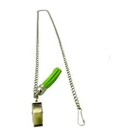 Zipper Genie with Suede Tassel (Green)