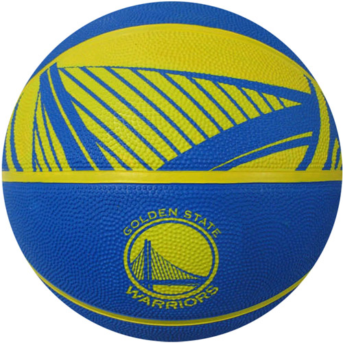 Spalding Team Logo Basketball, Golden State Warriors