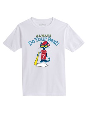 Pete The Cat Always Do Your Best - Youth Short Sleeve Tee