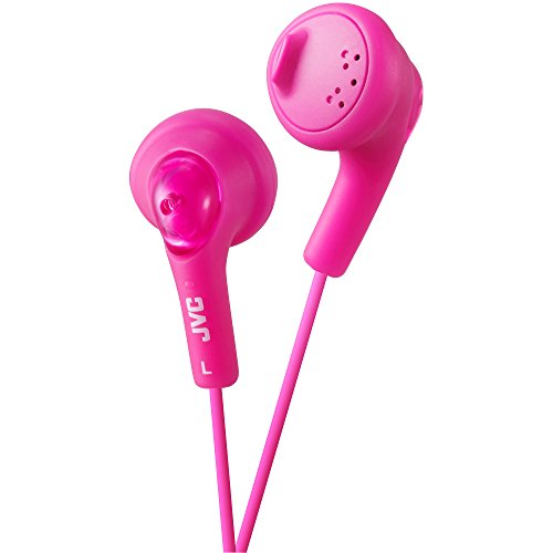 JVC HAF160P Gumy Ear Bud Headphone Pink