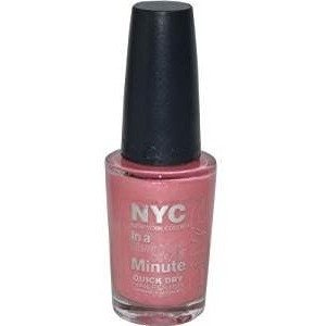 Coty NYC In a New York Color Minute Nail Polish, 0.33 (Best Amc In Nyc)