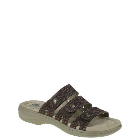 Attache Sandal (Earth Spirit Womens 3 Strap Sandals)