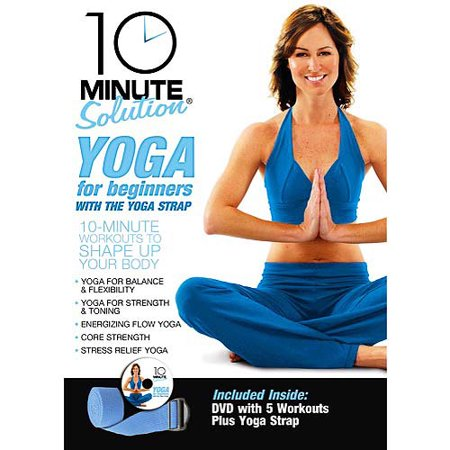 7b916733f35 10 Minute Solution  Yoga For Beginners Kit (Full Frame) - Walmart.com