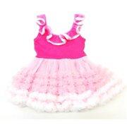 Hot Pink Baby-doll Tutu Petti Dress Girl S