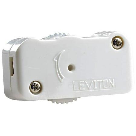 LEVITON MFG CO 200W White Cord Dimmer L02-01420-00W
