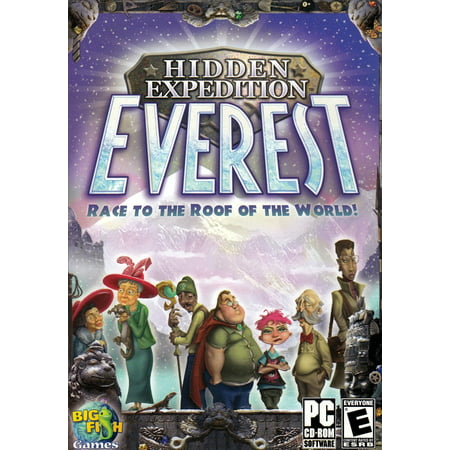 Hidden Expedition: Everest PC Game - Race to the Roof of the World -Taking Hidden Object Games to All-New Heights ()