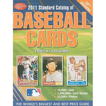 Standard Catalog Of Baseball Cards Walmartcom