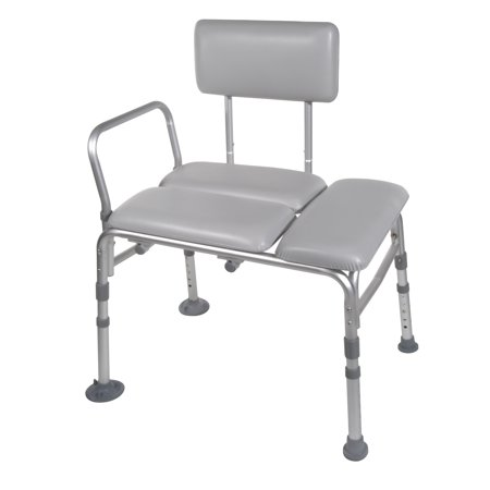 Drive Medical Padded Seat Transfer Bench - Walmart.com