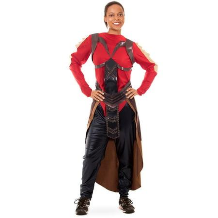 Boo! Inc. Elite Royal Guard Women's Halloween Costume | Comic Book Superhero Suit