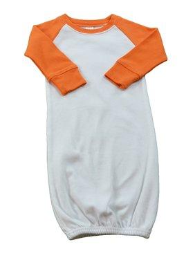 MONAG Long Sleeve Raglan Baby Gown