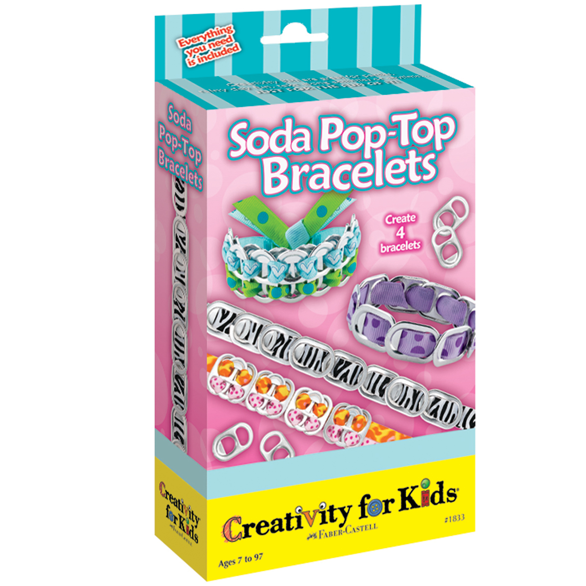 Soda Pop-Top Bracelets Kit-