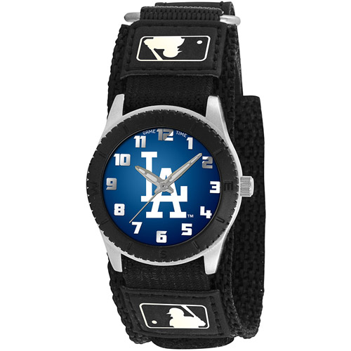 Game Time MLB Kids' Los Angeles Dodgers Black Rookie Watch