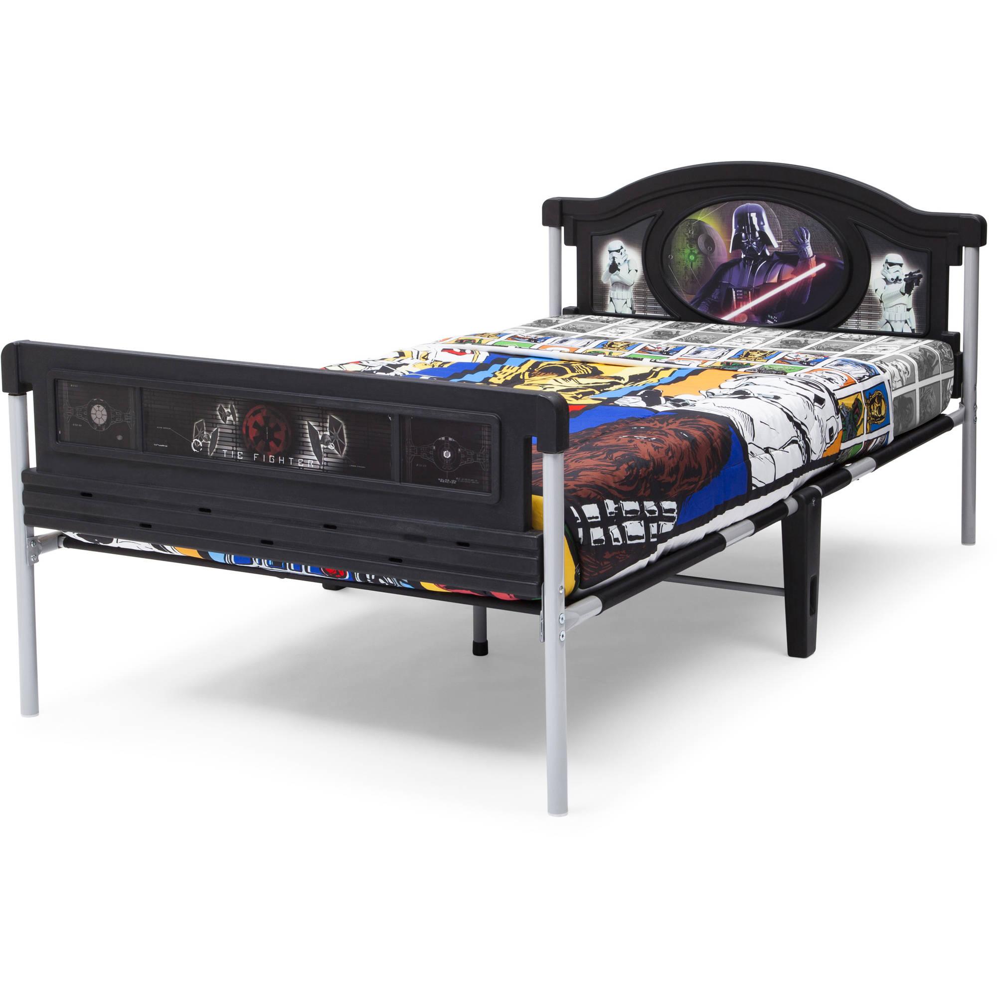 Star Wars Plastic Twin Bed