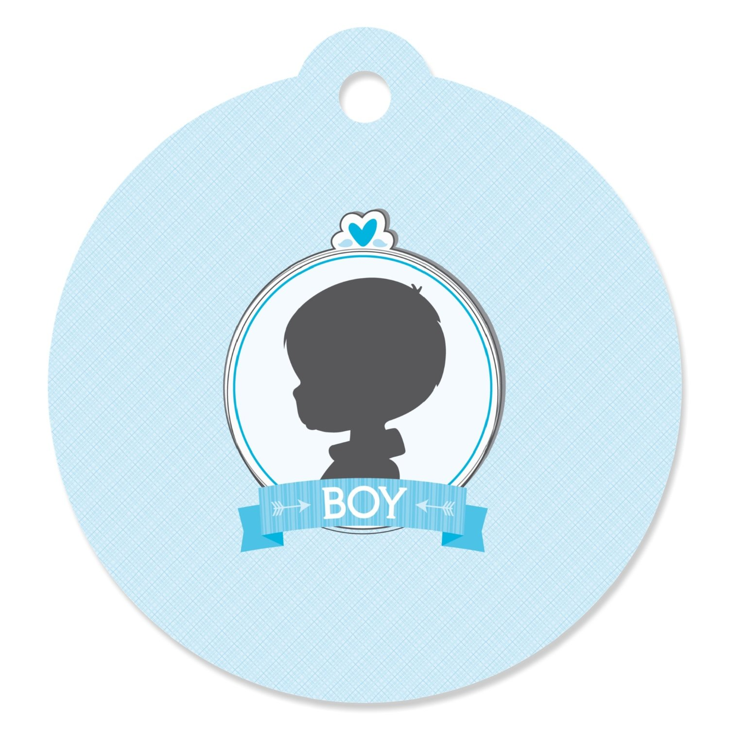 Gender Reveal - Boy - Party Favor Tags (Set of 20)