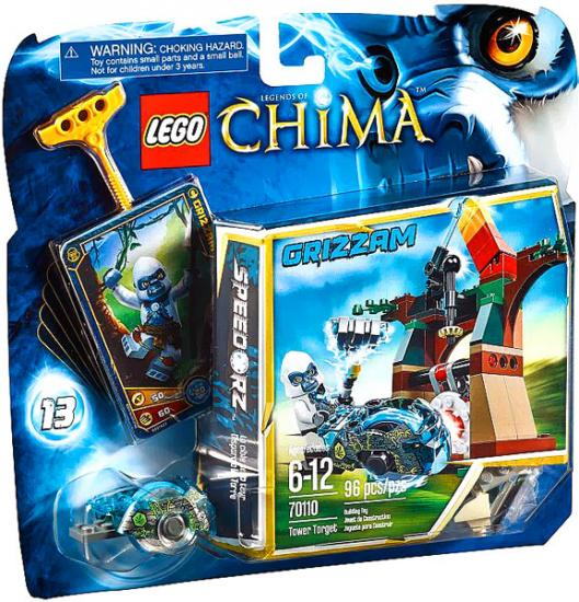 Legends of Chima Tower Target Set LEGO 70110