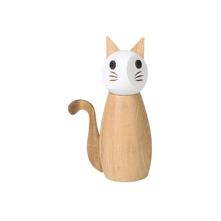 Cap Salt - Peterson House Cat Salt or Pepper Mill - Wooden Spice Grinder