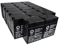 SPS Brand 6 V 14 Ah Replacement Battery with Terminal T1T2 for Siemens LEM (20 PACK) by Sigma Power Systems