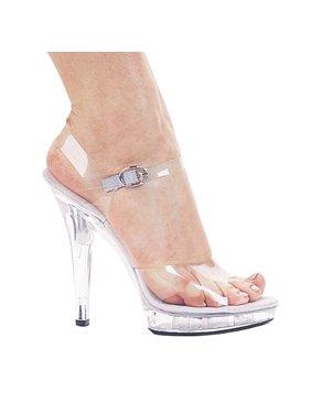 ee26d43fc Product Image M-Brook 5'' Heel Clear Mini Platform Sandal