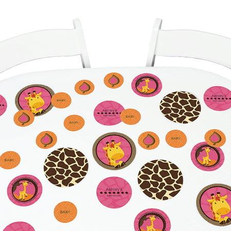 Giraffe Girl - Party Table Confetti - 27 Count