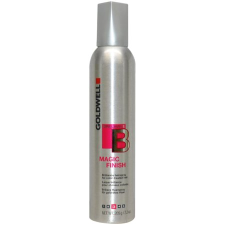 Goldwell Brilliance Magic Finish Hair Spray by Goldwell for Unisex, 7.2 (Goldwell Elumen Care)