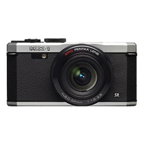 Pentax MX-1  12MP Digital Camera with 4x Optical Zoom and HD Video  - Silver  12633