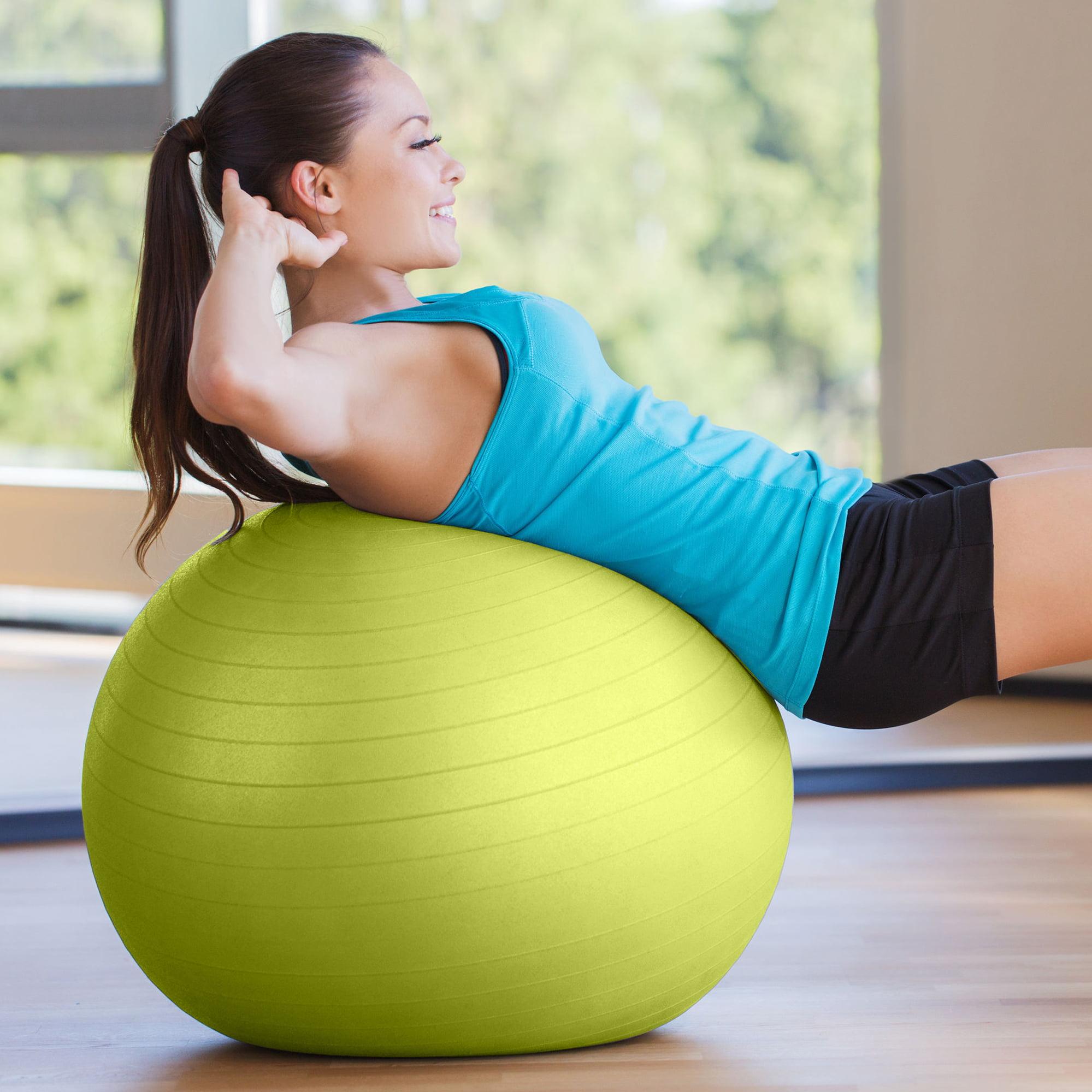 Gym Ball Bola Yoga Fitnes Senam Free Pompa 65cm Jim Daftar Size65cm Fitness Bonus Angin Fitball Pure Professional Exercise Stability