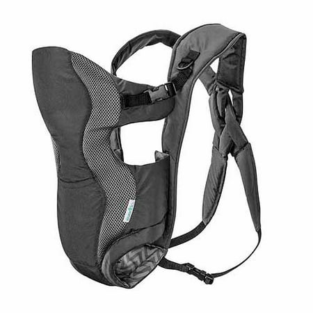 Infant Metal Baby Carrier - Evenflo Breathable Carrier, Gray Chevron