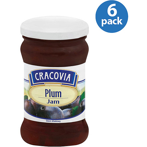 Cracovia Plum Jam, 13.39 Oz, (pack Of 6)
