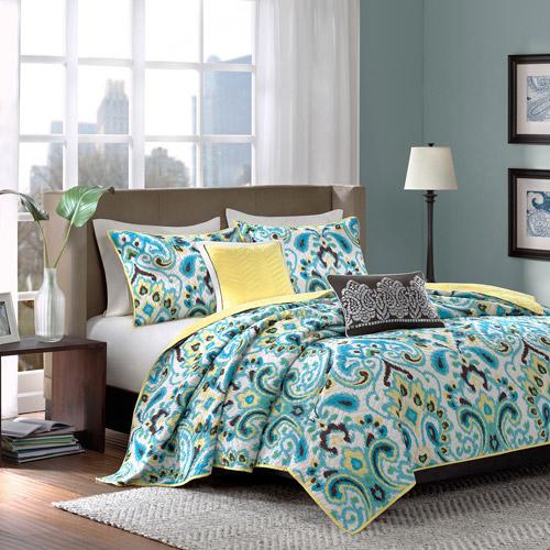 Home Essence Cadence 5-Piece Coverlet Bedding Set