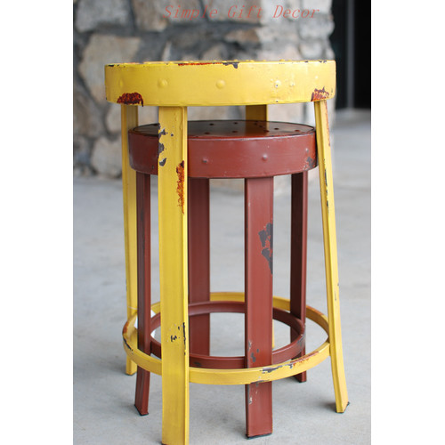 Attraction Design Home 2 Piece French Bistro Stool Set