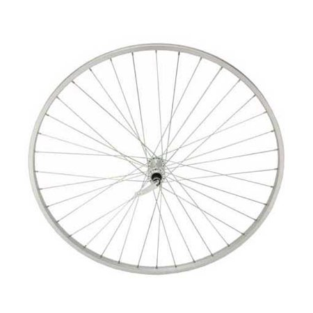 27in x 1 1/4in Alloy Front Bike Wheel, 14G, 36 Spoke
