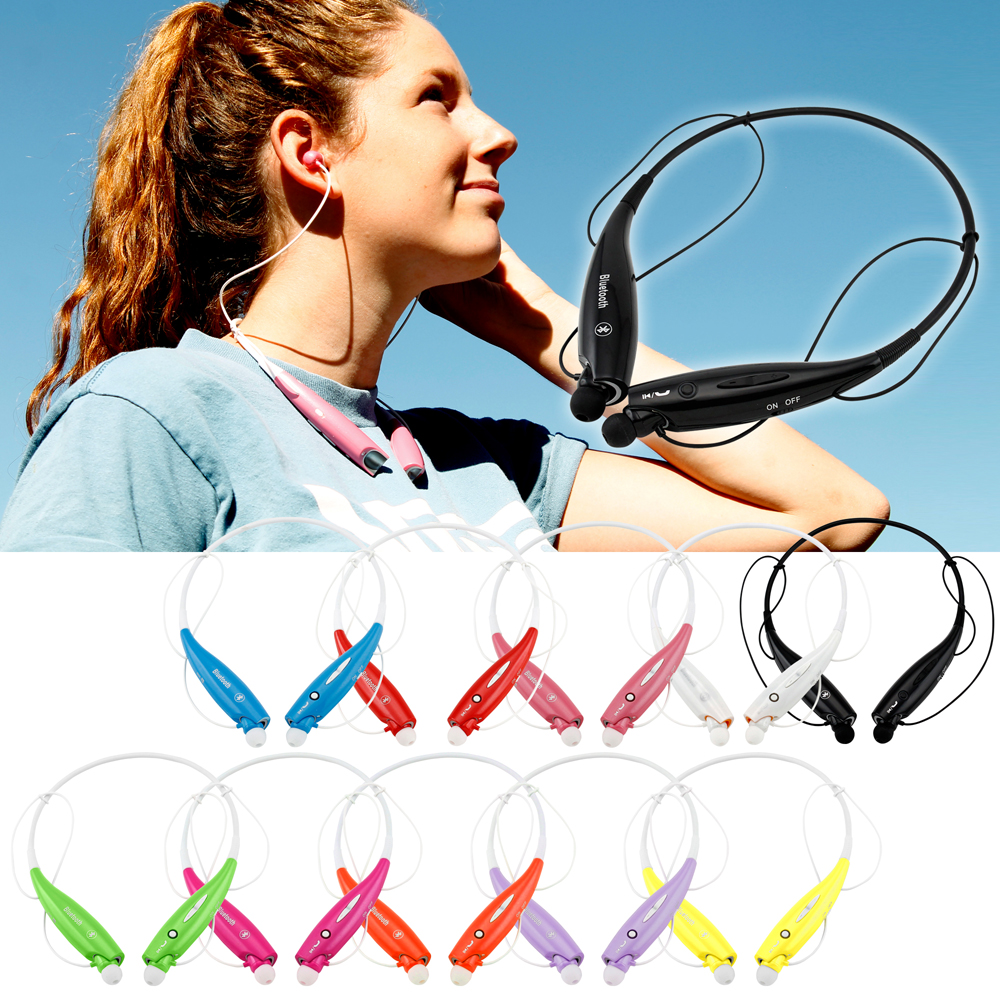 Wireless Sport Stereo Headset Bluetooth Sweat-Proof Universal Earphone headphone Running or Workout driving Headphones for Samsung LG iPhone
