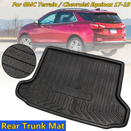 Rear Trunk Cargo Box Boot Liner Mat Carpet For GMC Terrain For Chevrolet Equinox 2017 2018 2019