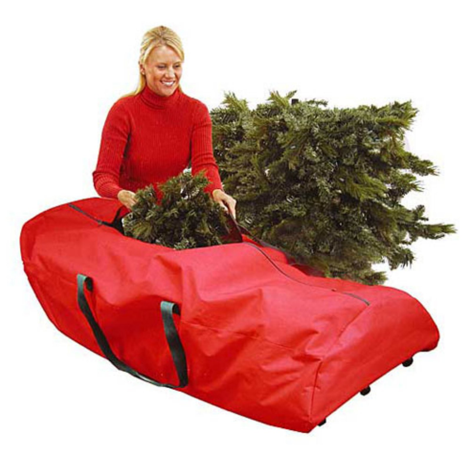 Dyno Heavy Duty Extra Large Rolling Artificial Christmas Tree Storage Bag