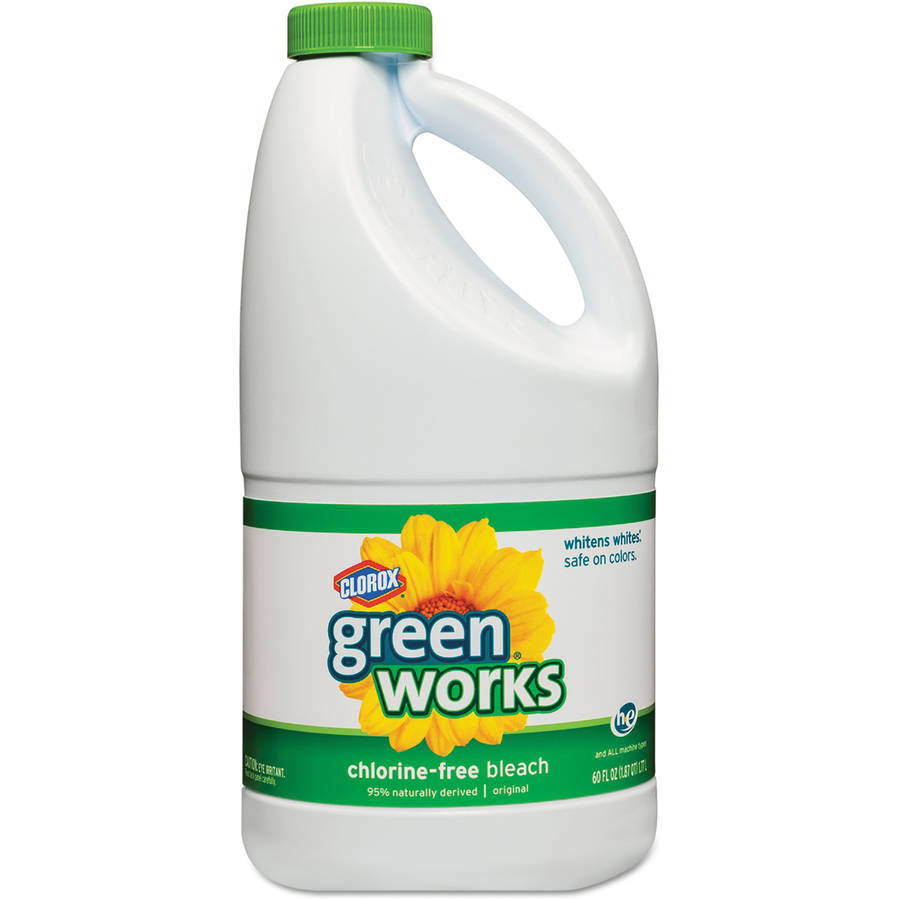 Green Works Non-Chlorine Bleach, 60 Fluid Ounces