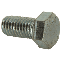 "HEX BOLTS 3/8""-16 X 3"", 50 PER PACK per 2 Pack"