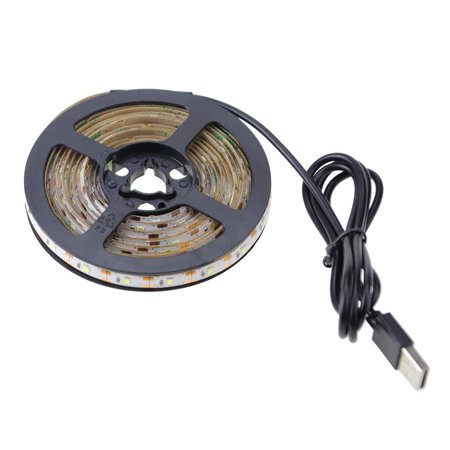 DC5V 3 Meters 180 LED Strip Light USB Powered Operated IP43 Water Resistance White for Wardrobe Cabinet Closet