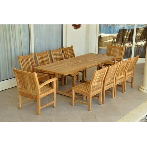 Anderson Teak Bahama 7 Piece Teak Dining Room Set by