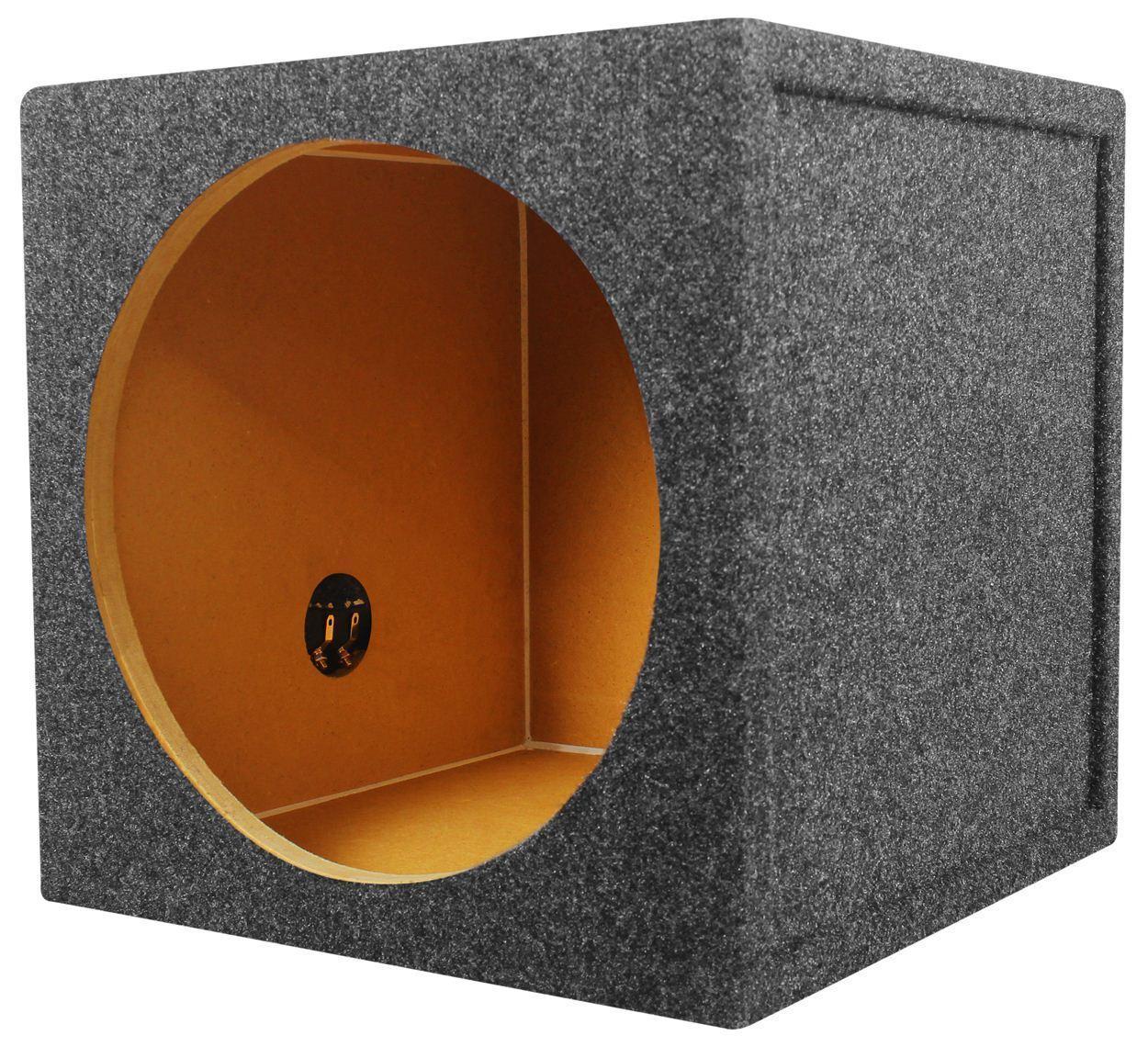"Rockville Sealed Sub Box Enclosure For MTX Audio 3512-02 12"" Subwoofer"