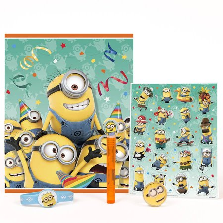 Despicable Me Minions Party Favor Kit for 4