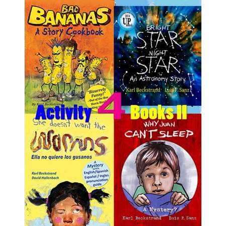 4 Activity Books Vol. II: Fun & Learning for Families - eBook - Family Halloween Activities Dallas