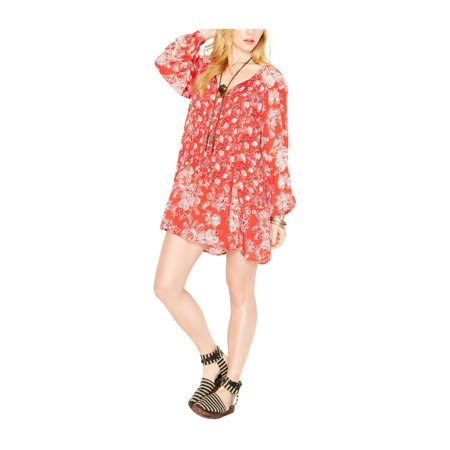 Free People Womens Lucky Loosey A-line Dress