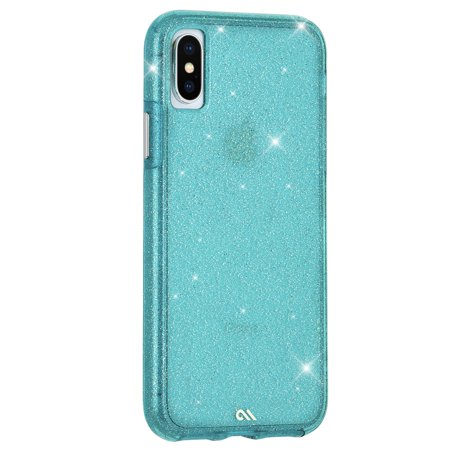 Case-Mate iPhone X/Xs Teal Sheer Crystal case - CM037942 - image 2 of 3