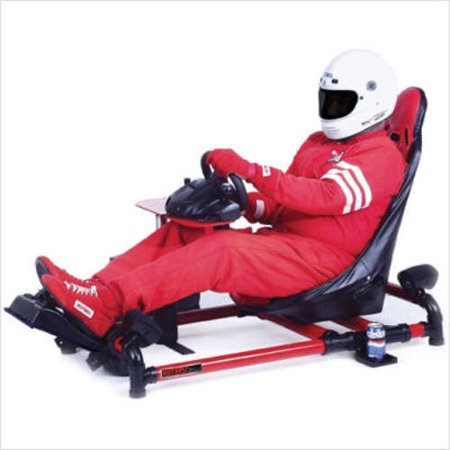 HotSeats Racer GT Game Chair With Sony Slim PS2 System