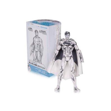 Jim Lee Superman (DC Comics Superman Action Figure [Jim Lee Blueline)
