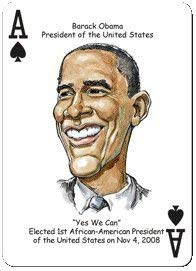 Black America 52 Great African Americans Hero Deck Playing cards parody productions