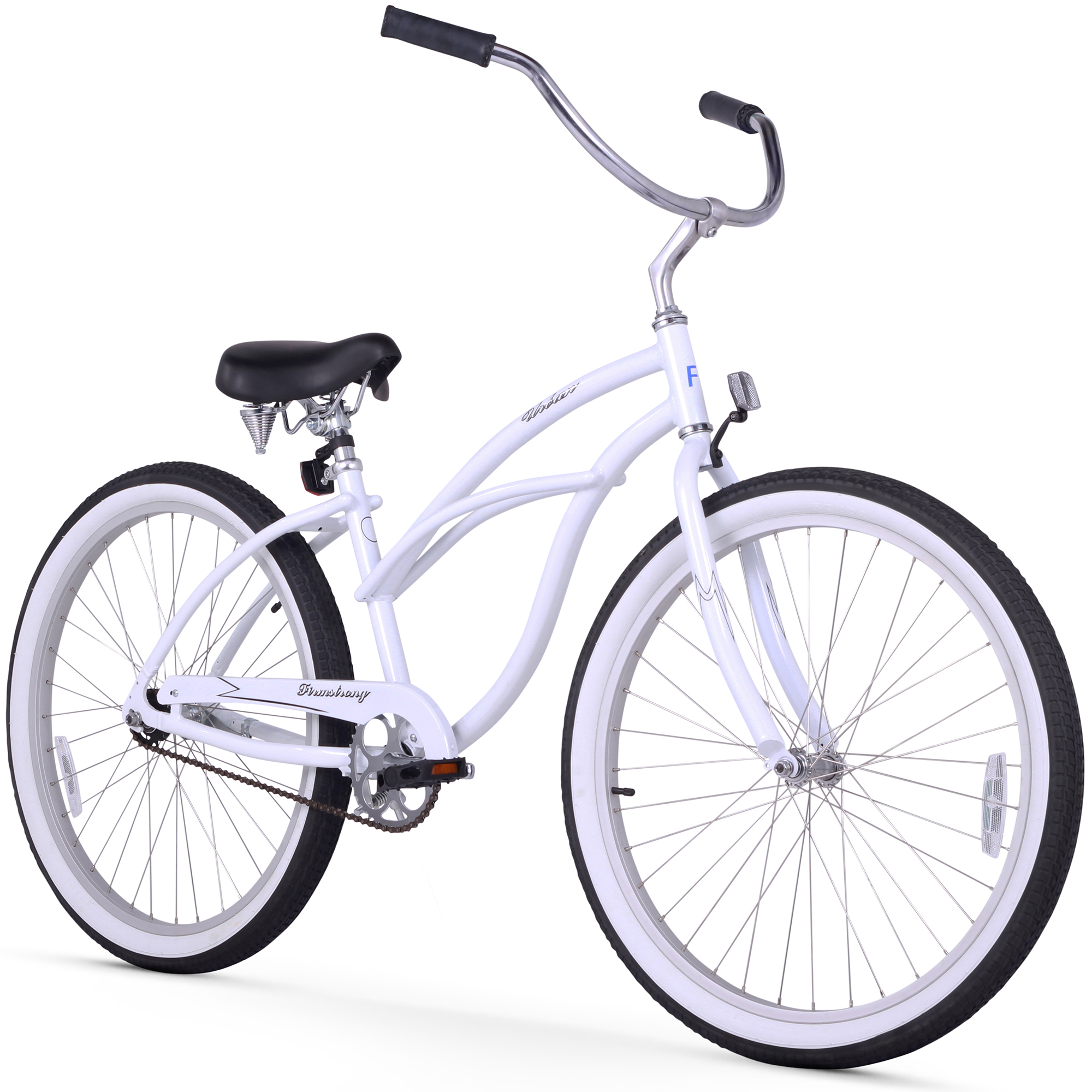 "Firmstrong 26"" Women's Urban Alloy Beach Cruiser, 1 Speed"