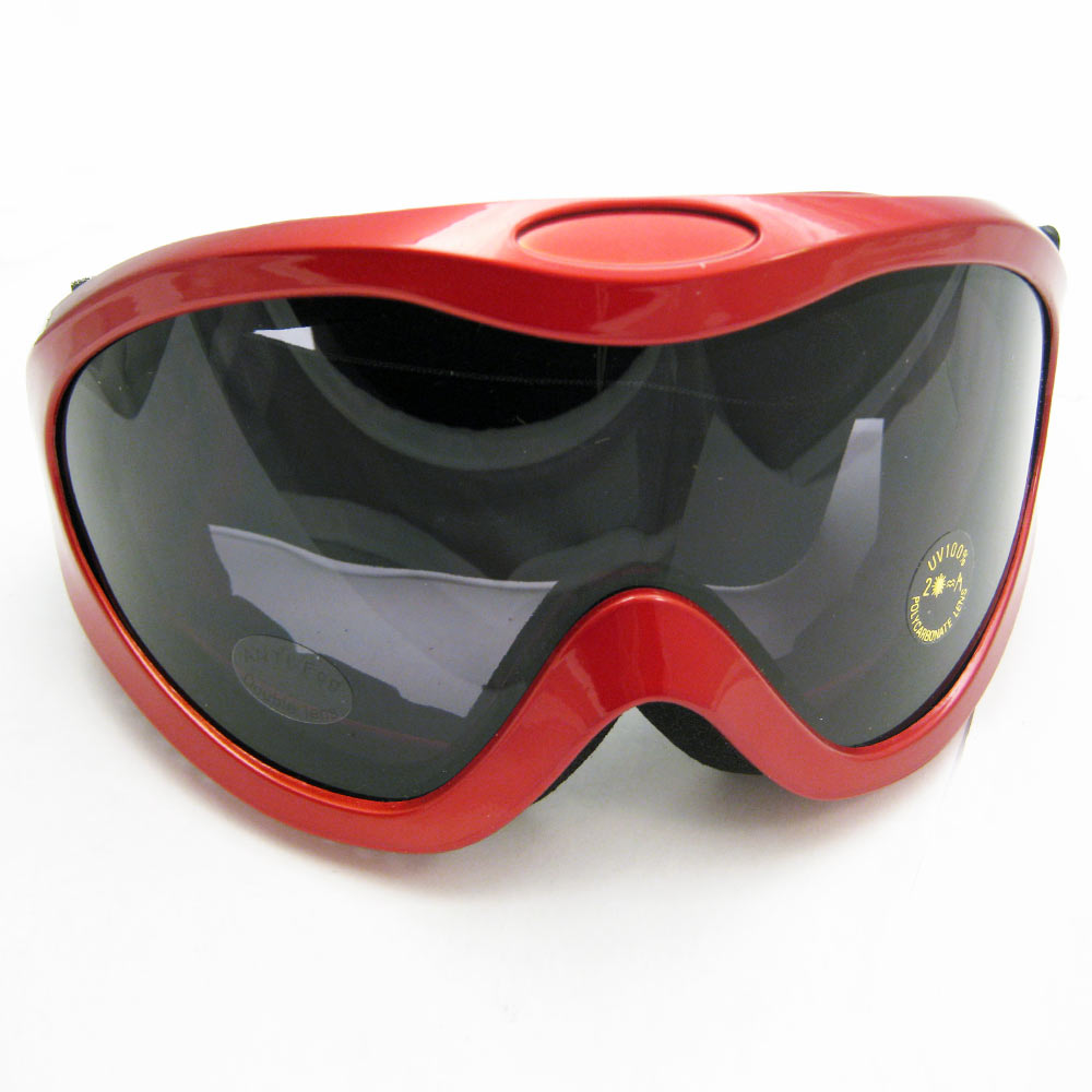 New Snowboard Goggles Snow Glasses Sun Sports Lens Sunglasses Men Women Lens Red by Asia Pacific