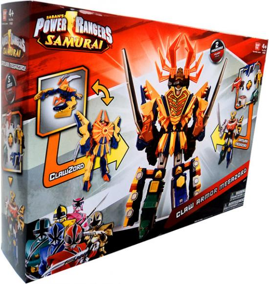 Power Rangers Deluxe DX Claw Armor Megazord Action Figure by