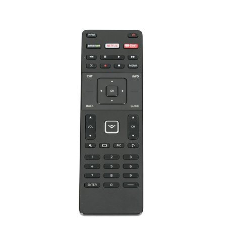 ECONTROLLY XRT112 New Replaced Remote Control for Vizio Smart Internet LED TV with Netflix iHeart Radio APP Keys (Halloween Tv Shows On Netflix)